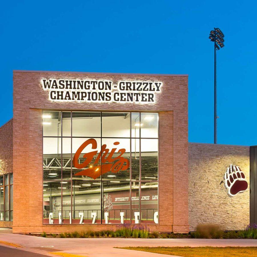 University of Montana Washington-Grizzly Champions Center